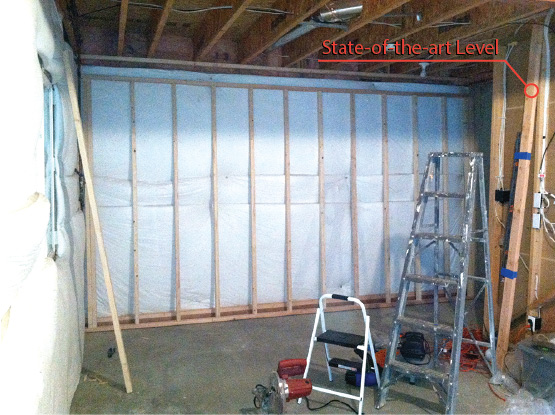 floating basement walls