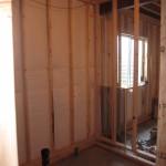 framing a basement bathroom