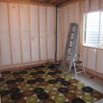 framing a basement bedroom floating walls