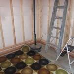 ideas for covering a basement sump pump