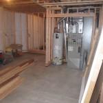 framing basement home theater