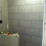 how to tile a basement bathroom shower