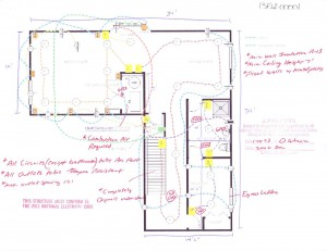 Tony's Basement Design and Layout Plan