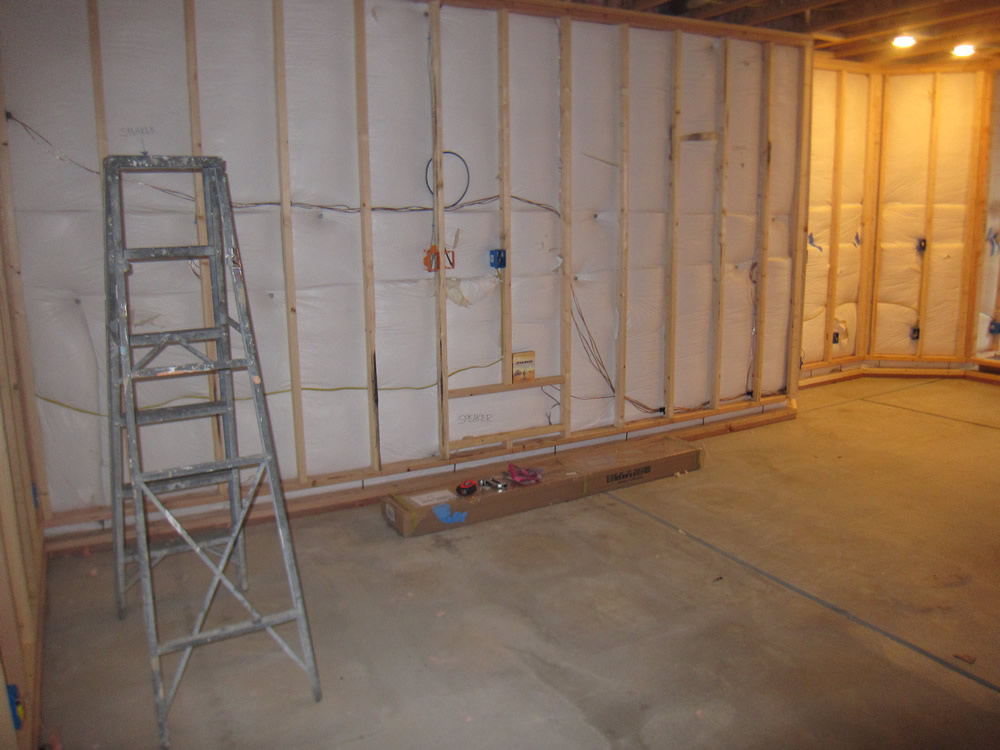 finish basement home theater before and after pictures rh howtofinishmybasement com Basement Wiring Houston Texas Basement Wiring Plan