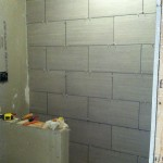 how to tile a basement bathroom shower
